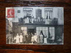 DIEPPE HOTEL DU ROCHER DE CANCALE 1908 - Dieppe