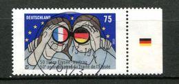 Thème Général De Gaulle - Allemagne - 50 Ans Du Traité De L'Elysée - Oblitéré - De Gaulle (Generale)