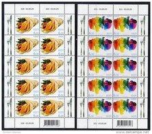 ESTONIA 2005 Europa: Gastronomy Sheetlets MNH / **.  Michel 515-16 - Estonia