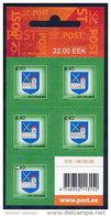 ESTONIA 2005 Arms Of Ida-Viru Sheetlet  Of 5  MNH / **.  Michel 507 - Estonia