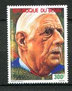 Thème Général De Gaulle - Bénin - Yvert 701 Neuf Xxx - De Gaulle (Général)