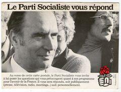 CPM    FRANCOIS MITTERRAND   LE PARTI SOCIALISTE VOUS REPOND - Partis Politiques & élections