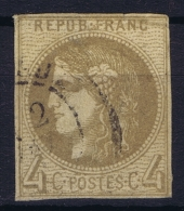 France: Yv Nr 41 B Obl./Gestempelt/used   Report 2 - 1870 Uitgave Van Bordeaux
