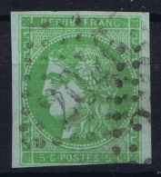 France: Yv Nr 42 B  Mi Nr 39 B  Obl./Gestempelt/used - 1870 Bordeaux Printing