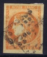 France: Yv Nr 48  Mi Nr 43 Obl./Gestempelt/used - 1870 Uitgave Van Bordeaux