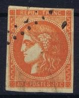 France: Yv Nr 48  Mi Nr 43 Obl./Gestempelt/used - 1870 Bordeaux Printing