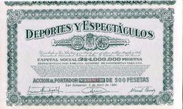 ACCION   De  Deportes Y Espectaculos    San Sebastian    - 146 - Industrial