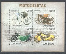 S371 2012 GUINE-BISSAU MOTOCICLETAS 1KB MNH - Motorbikes
