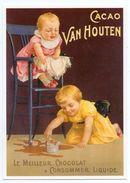CPM - CENTENAIRE Editions -  RECLAME - 194 - Cacao Van Houten 1900 - Reclame
