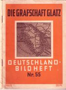 Grafschaft GLATZ Deutschland Bildheft Nr 55 Reich Bebildert 44 Bilder In AK Größe - Schlesien