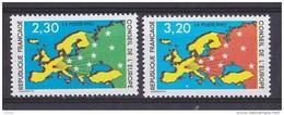Timbres De Services Conseil De L' Europe 1990 N° 104 Et 105 Cote 3.50€ - Service