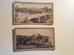 Chocolat SUCHARD, 2 Cartes Publicitaires, Série 221, Bâle  Et Arbon - Reclame