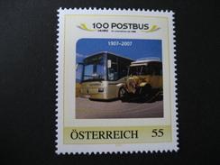 Personalisierte Marke Postfrisch, 100 Jahre Postbus - Personalisierte Briefmarken