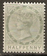 Tobago 1883 SG 20 1/2d Mounted Mint - Trinidad & Tobago (...-1961)
