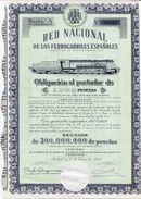ACCION    Red Nacional De Ferrocarriles Españoles    Año 1949  - 106 - Chemin De Fer & Tramway