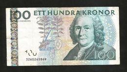 DENMARK / DANIMARCA - DANMARKS NATIONALBANK - 100 KRONER / C. Von Linne - Danimarca
