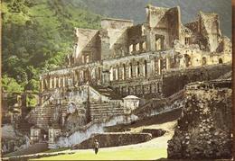 21 Haïti - Cap Haïtien Nearby Ruins Of Sans Souci Palace - Ruines Du Palace Sans Souci -  Ets Bondel Port Au Prince - Haïti