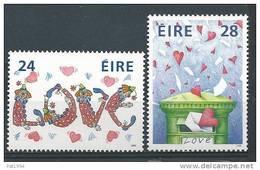Irlande 1988 N°643/644 Neufs ** Messages D'Amour - 1949-... República Irlandése