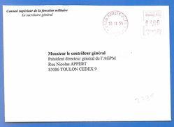 EMA PARIS ARMEES 01-AN 3 (2738) Conseil Supérieur De La Fonction Militaire - 18 11 1999 - Sellos Militares Desde 1900 (fuera De La Guerra)