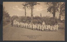 """+++ CPA - PIETREBAIS - Sanatorium Du Domaine De La Chise - """"En Promenade""""   // - Incourt"""