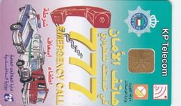 Kuwait, KW-KPT-0014, Kuwait Police - 777 Emergency, 2 Scans. - Kuwait