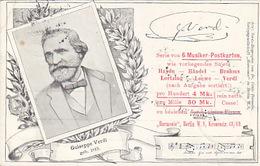 Giuseppe Verdi - 1898   (171024) - Singers & Musicians