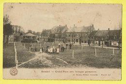 * Kemmel (Heuvelland - Ieper - Ypres) * (E. Desaix, Nr 3) Grand'Place Avec Kiosque Permanent, Dries, Animée, Enfant, TOP - Heuvelland