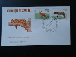 FDC Leopard 1993 Senegal 81089 - Felini