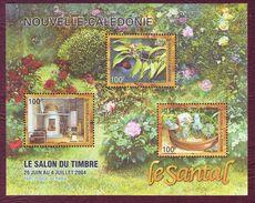 NOUVELLE-CALEDONIE 2004 - Le Salon Du Timbre 2004 - YT N° BF 33 - Neuf ** - Arbres