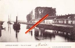 CAPPELLE-AU-BOIS - Vue Sur Le Canal - (avec Bateau) - Kapelle-op-den-Bos