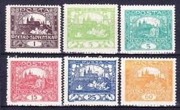 * Tchécoslovaquie 1918 Mi  2 Ex (Yv 28 Ex), (MH), Charniere Ou Trace De Charniere Propre - Czechoslovakia