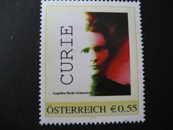 Pers.BM 8006390** Madame Curie, Angelika Hecht-Schneewolf - Personalisierte Briefmarken