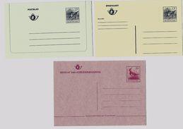 Belgie -Belgique   Postkaart + Postblad 13 F + Adresverandering 10 F - Type BUZIN  3 Stuks - Postfris - Entiers Postaux