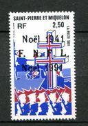 Thème Général De Gaulle - Saint Pierre Et Miquelon Yvert 554 Neuf Xxx - De Gaulle (Generale)