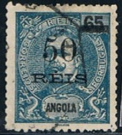 Angola, 1905, # 87, Used - Angola