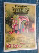 NUTELLA JEU CONCOURS VILLA   -  Pour  Collectionneurs ... PUBLICITE  Page De Revue Des Années 70 Plastifiée Par Mes Soin - Nutella
