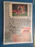 NUTELLA CUBITUS ROBIN DUBOIS BENJAMIN   -  Pour  Collectionneurs ... PUBLICITE  Page De Revue Des Années 70 Plastifiée P - Nutella