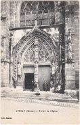 51. AVENAY. Portail De L'Eglise - Autres Communes