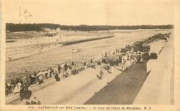40 CAPBRETON-SUR-MER LE LONG DU CANAL DU BOUDIGAU - Capbreton