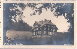 SKALKA Schutzhaus 928 M Beskiden Verein Bahnstion Mosty Bei Jablunkau 2.1.1942 Datiert - Böhmen Und Mähren