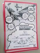 MODELES REDUITS D'AVIONS MATCHBOX  -  Pour  Collectionneurs ... PUBLICITE  Page De Revue Des Années 70 Plastifiée Par M - Airplanes & Helicopters