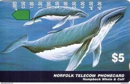 *NORFOLK ISLAND* - Scheda Usata - Norfolkinsel