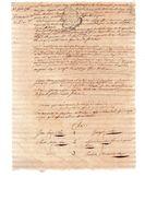 CLAUDE JULLIAN CHAS Officier De Marine  & MARGUERITE PASCALE BOYER .consanguinité Du 2e Au 3e.4 Pages Manuscrites.1786 - Documents Historiques
