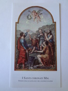 D864 - Santino Ed.Paco N.351 I Santi Coronati - Images Religieuses