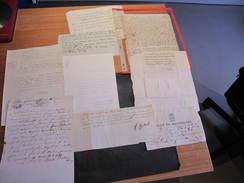 9 DOCUMENTS XVIIIe  XIXe - Divers - (2) - Documents Historiques