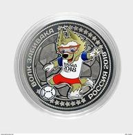 Russia, World Cup 2018, Mascot ZABIVAKA (wolf), 25 Rbl Rubels Colored UNC - Russland