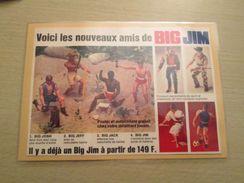 MATTEL LES NOUVEAUX AMIS DE BIG JIM : JOSH JEFF JACK Les Village People Quoi ! Pour  Collectionneurs ... PUBLICITE MATTE - Other