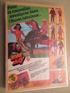MATTEL KARL MAY Genre BIG JIM   -  Pour  Collectionneurs ... PUBLICITE  Page De Revue Des Années 70 Plastifiée Par Mes S - Other Collections