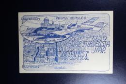 Rumania :  Post Karte Legiposta 1923 Budapest Magvar Fitalista Zu Esztergom Exhibition - Hungary