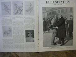 L'ILLUSTRATION 4219 FUNERAILLES DIXMUDE/ CRUE SEINE/ RUGBY/  12 JANVIER 1924 - Journaux - Quotidiens